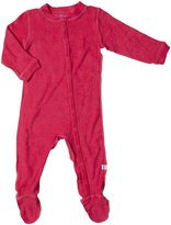 I Play Brights Organic Knitted Terry Footie (Baby) - Aqua-3-6 Months