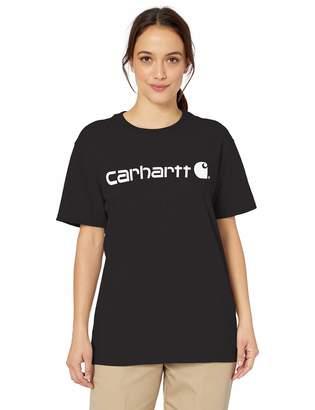 Carhartt Women's WK195 Workwear Logo Short T-Shirt