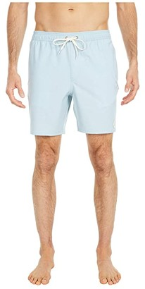 O'Neill Solid Volley Boardshorts (Bright Blue) Men's Swimwear