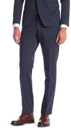 John Varvatos Bedford Blue Sharkskin Suit Separate Pants