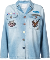 Mira Mikati Multi-Patch Denim Overshirt
