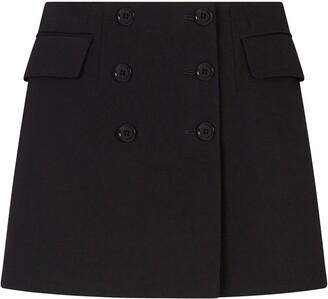 Dolce & Gabbana Double-Breasted Mini Skirt