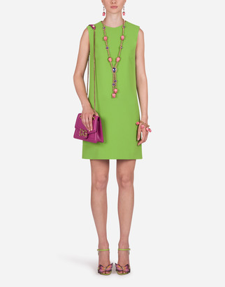 Dolce & Gabbana Short A-Line Cady Dress