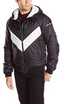 Versace Men's Hooded Nylon Jacket