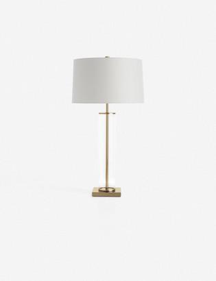 Lulu & Georgia Arteriors Norman Table Lamp, Antique Brass