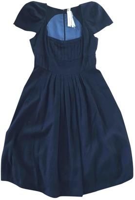 Anne Valerie Hash Black Viscose Dresses