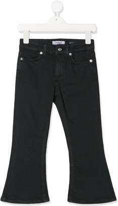 Dondup Kids Flared Fitted Jeans