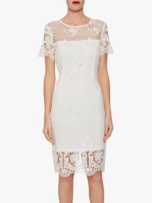 Gina Bacconi Luzetta Floral Lace Dress