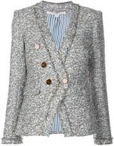 Veronica Beard Tweed Double Breasted Jacket
