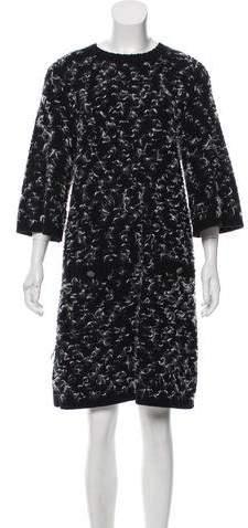 Chanel Wool Knit Dress