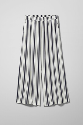 Weekday Celise Trousers - White