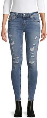 True Religion Halle Destroyed Skinny Jeans