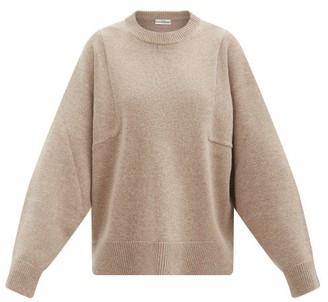 Co Sleeve-seam Wool-blend Sweater - Beige