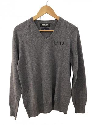 Comme des Garcons Grey Wool Knitwear & Sweatshirts