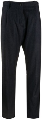 Nine In The Morning Mid-Rise Cropped Trousers