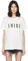 Amiri White Logo Core T-Shirt