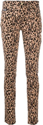 Versace Jeans Couture Leopard Print Trousers