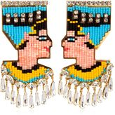 Shourouk Nefertiti Earrings