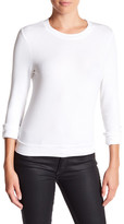 Michael Stars Crop Ribbed Pullover