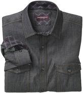 Johnston & Murphy Double-Pocket Denim Shirt