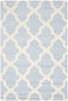 Safavieh Cambridge Collection CAM121A Handmade Wool Area Rug, 4-Feet by 6-Feet