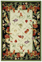 Safavieh Chelsea Leaf and Chicken Novelty Area Rug Rug