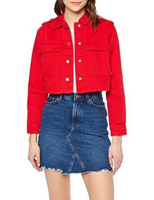 New Look Women's Danni Box Jacket,(Manufacturer Size:)
