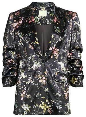 Cinq à Sept Sakura Floral Jacket