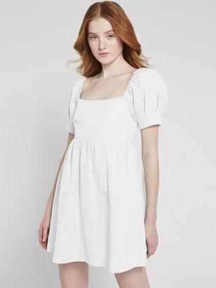 Alice + Olivia Bauery Puff Sleeve Mini Dress