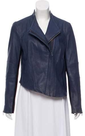 Helmut Lang Textured Leather Jacket