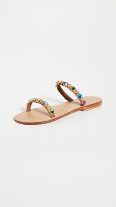 Mystique Double Strap Multi Jewel Slides