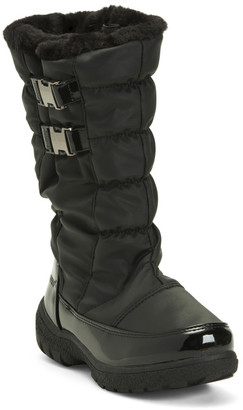 Two Buckle Nylon Storm Boots
