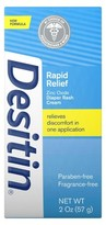 Desitin Rapid Relief Creamy Diaper Rash Ointment - 2 oz.