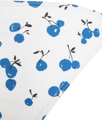 HVN Cherry-Print Side Tie Bikini Bottoms