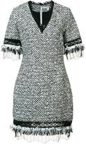 Jonathan Simkhai V-neck bouclé dress - women - Cotton - 4