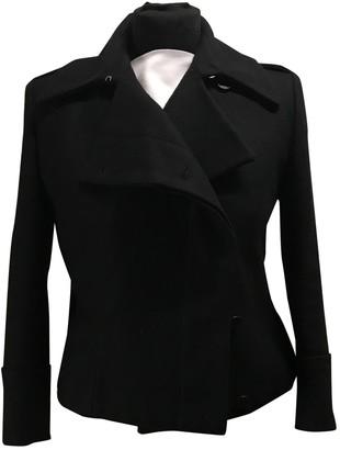 Alexander McQueen Black Wool Coats