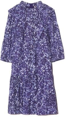 Sea Celine Long Sleeve Tunic Dress in Lapis