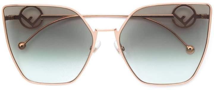 d2667bb5250be Fendi Pink Women s Sunglasses - ShopStyle