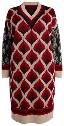 Marina Rinaldi Lurex Sweater Dress