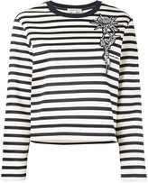 Carven striped jumper - women - Cotton - S