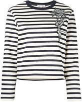 Carven striped jumper - women - Cotton - XS