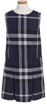 Burberry 'Dawny' Sleeveless Check Dress (Little Girls & Big Girls)