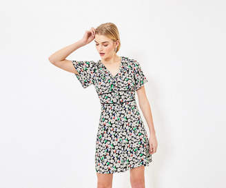 Oasis Button Skater Dress