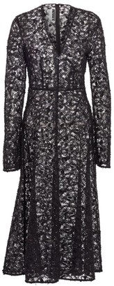 Rotate by Birger Christensen N.21 Beaded Lace A-Line Dress