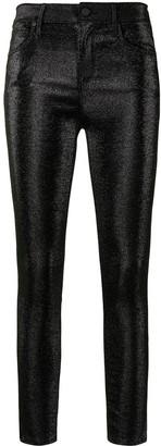 RtA Madrid glitter skinny-fit trousers