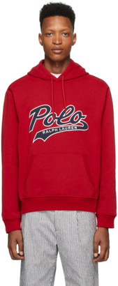 Polo Ralph Lauren Red Tech Hoodie