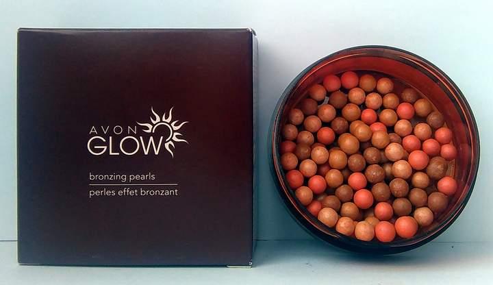 Avon Glow Bronzing Pearls Warm Coral 22g - 0.8oz
