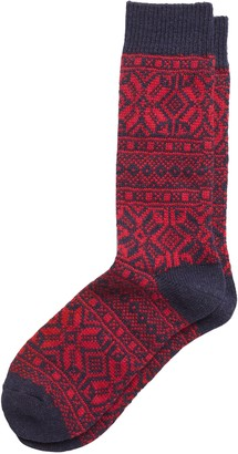 Banana Republic Fair Isle Wool-Blend Sock