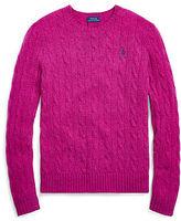 Polo Ralph Lauren Ralph Lauren Wool-Cashmere Crewneck Sweater