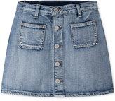 Levi's High Rise Button Front Cotton Skirt, Big Girls (7-16)